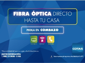 COTAS, wifi, plan duo, fibra, optica,